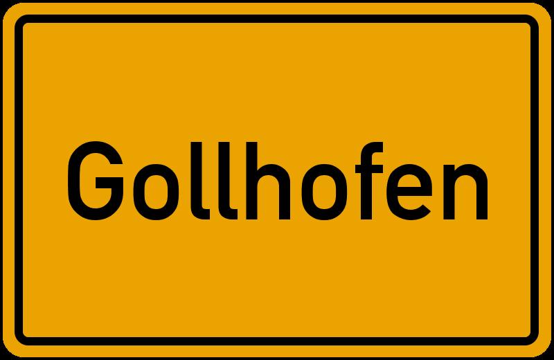 onlinestreet Branchenbuch für Gollhofen