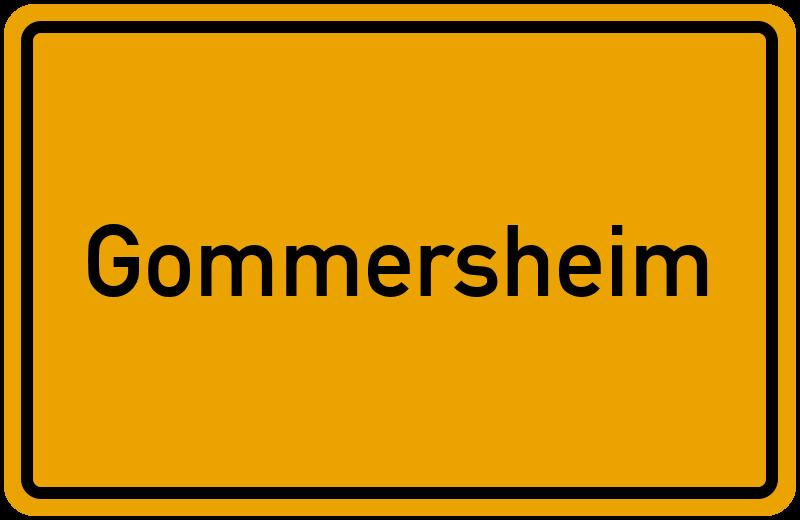 onlinestreet Branchenbuch für Gommersheim