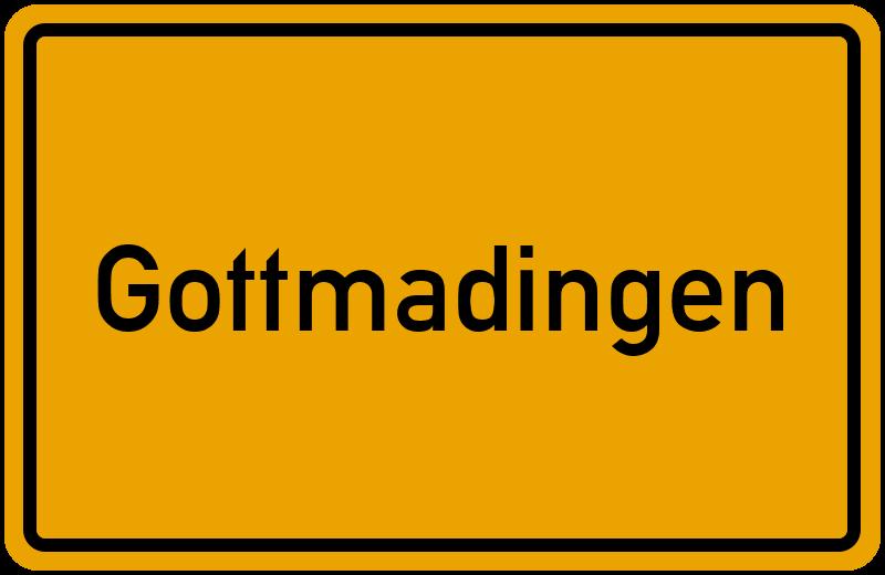Ortsschild Gottmadingen