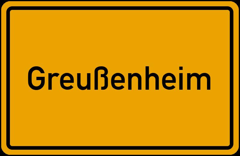onlinestreet Branchenbuch für Greußenheim