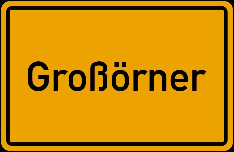 onlinestreet Branchenbuch für Großörner