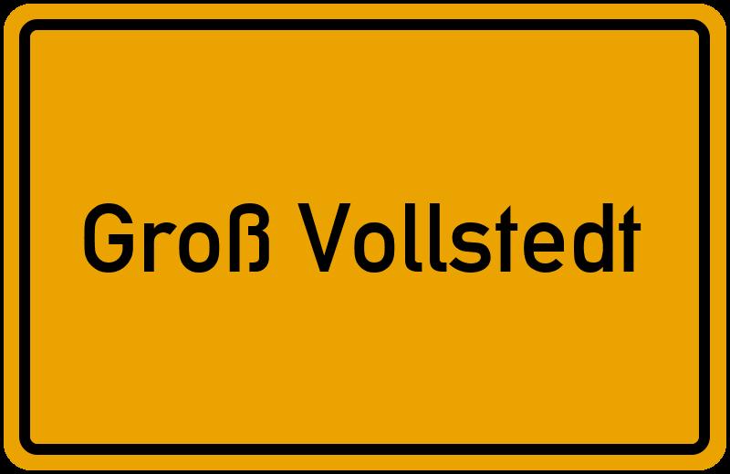 onlinestreet Branchenbuch für Groß Vollstedt