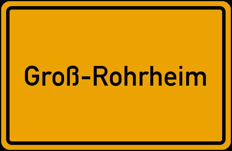 onlinestreet Branchenbuch für Groß-Rohrheim