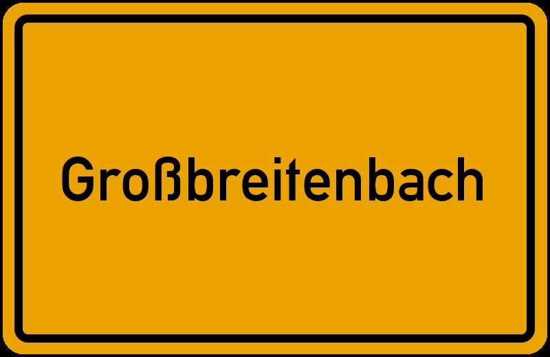 onlinestreet Branchenbuch für Großbreitenbach