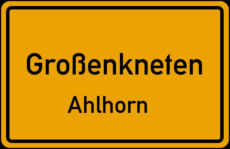 Karl-Bunje-Straße in 26197 Großenkneten Ahlhorn (Niedersachsen)