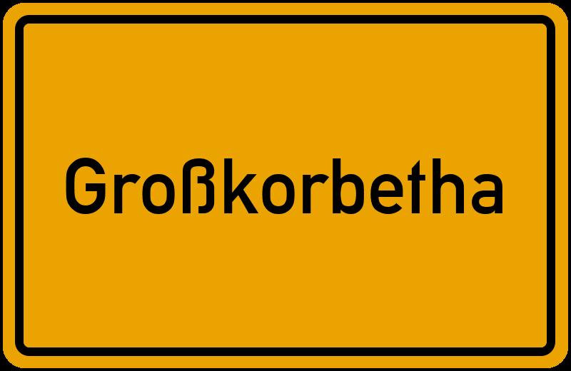 onlinestreet Branchenbuch für Großkorbetha