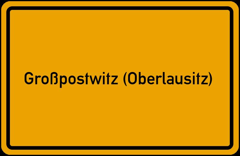 onlinestreet Branchenbuch für Großpostwitz (Oberlausitz)