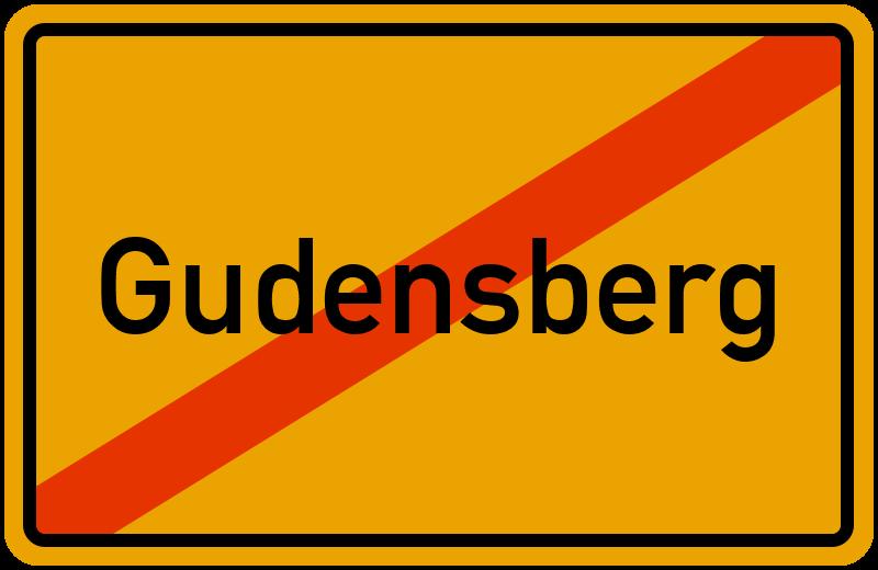 Ortsschild Gudensberg