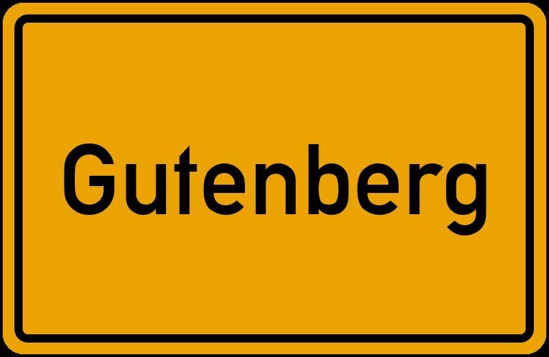 onlinestreet Branchenbuch für Gutenberg