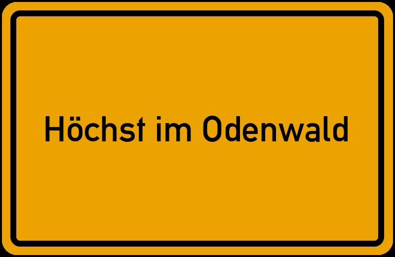 onlinestreet Branchenbuch für Höchst im Odenwald