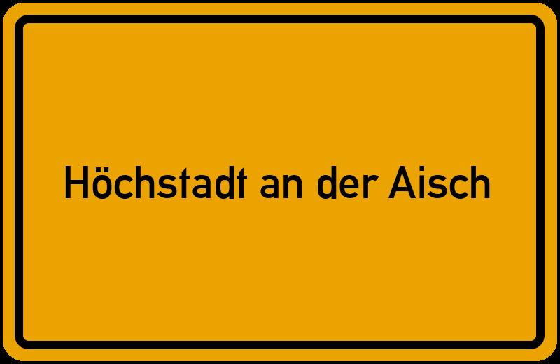 onlinestreet Branchenbuch für Höchstadt an der Aisch