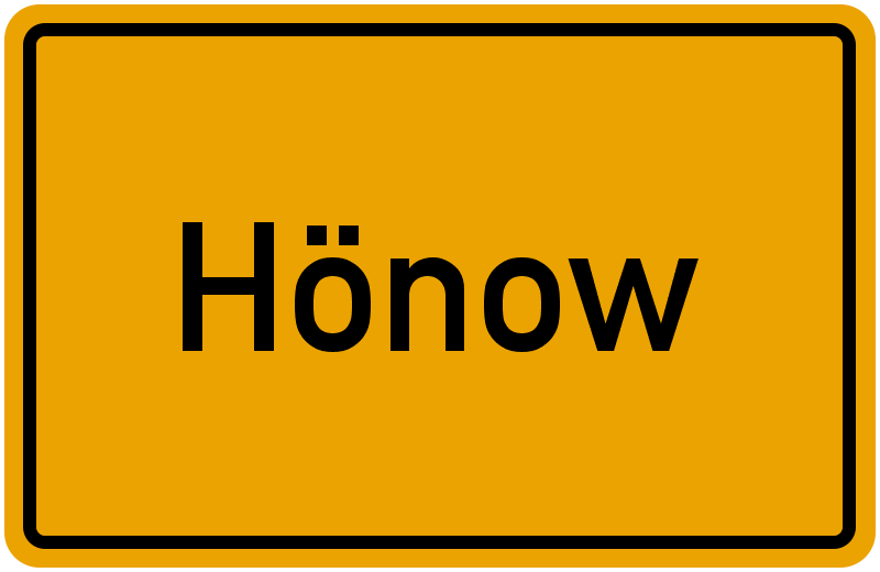 onlinestreet Branchenbuch für Hönow