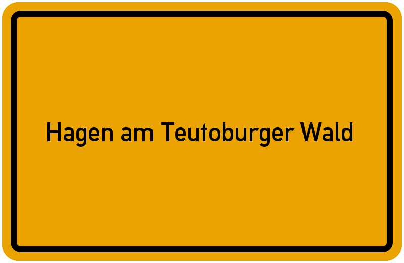 onlinestreet Branchenbuch für Hagen am Teutoburger Wald