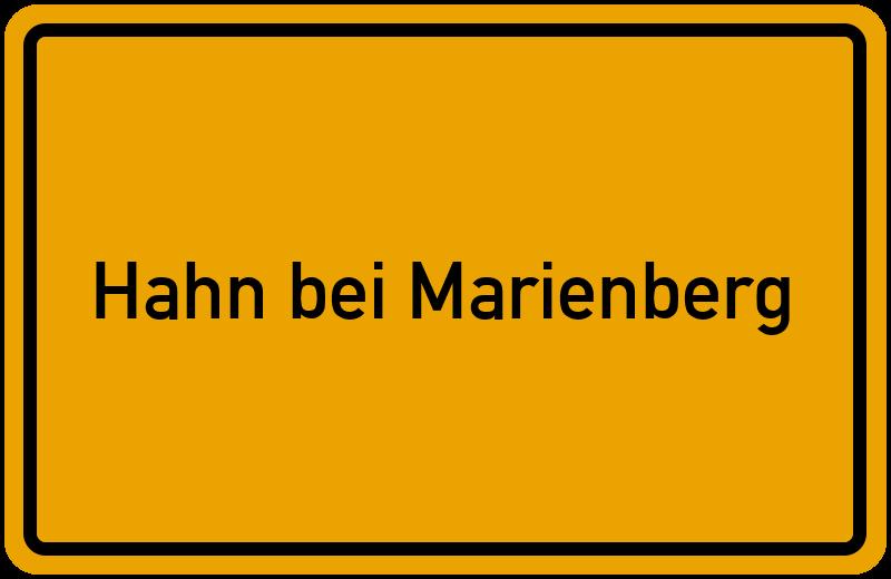 onlinestreet Branchenbuch für Hahn bei Marienberg