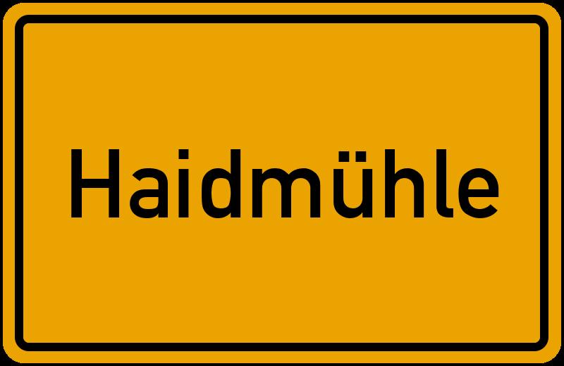 onlinestreet Branchenbuch für Haidmühle