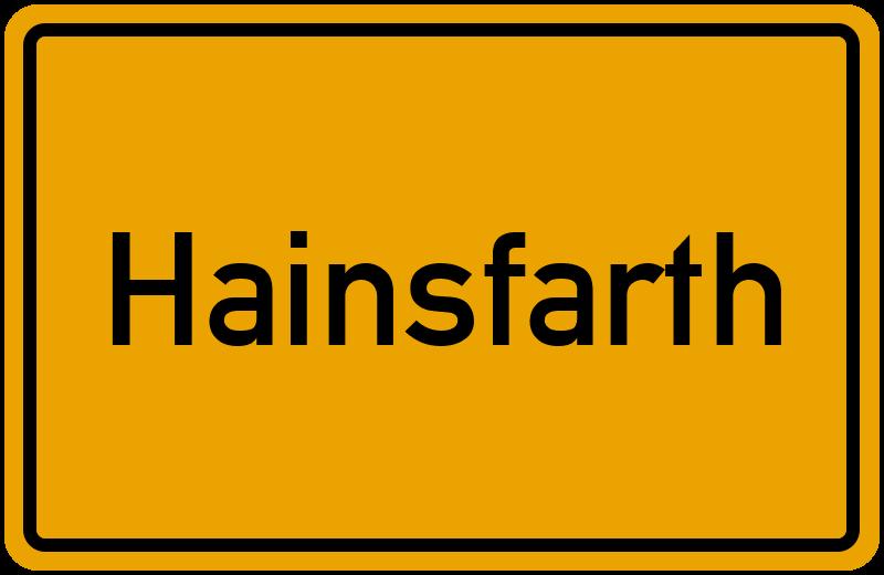 onlinestreet Branchenbuch für Hainsfarth