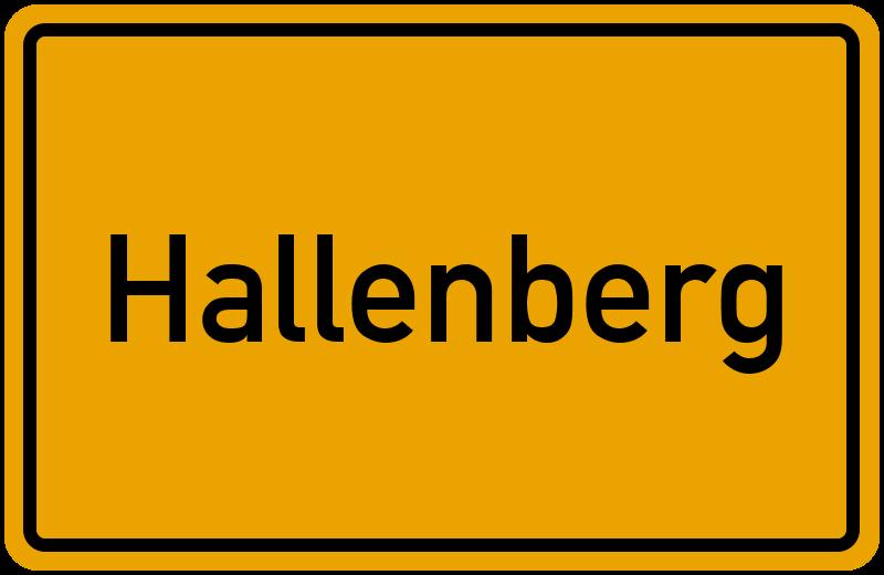 onlinestreet Branchenbuch für Hallenberg