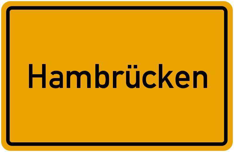 onlinestreet Branchenbuch für Hambrücken