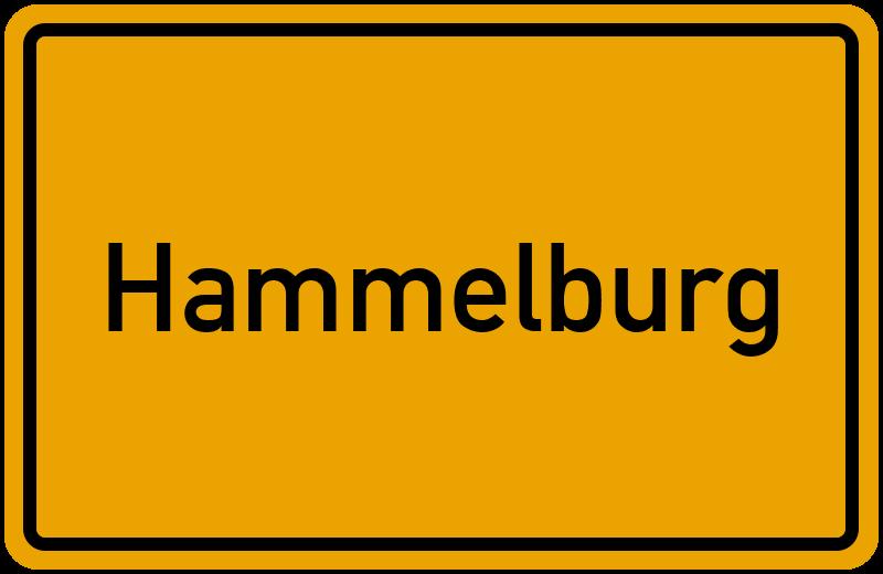 Ortsschild Hammelburg