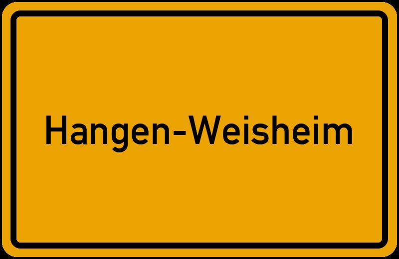 onlinestreet Branchenbuch für Hangen-Weisheim