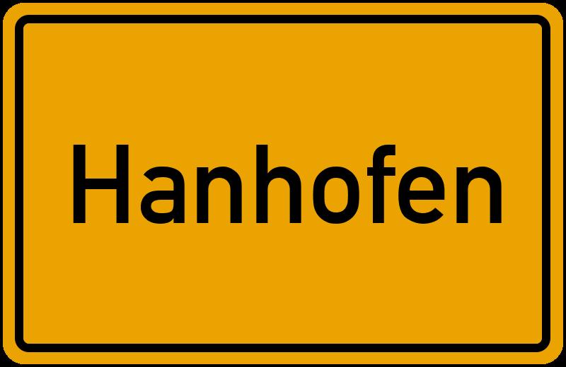 onlinestreet Branchenbuch für Hanhofen