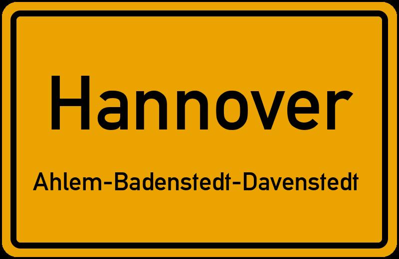 30453 Hannover Ahlem Badenstedt Davenstedt