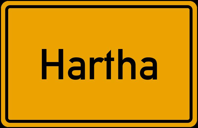 onlinestreet Branchenbuch für Hartha