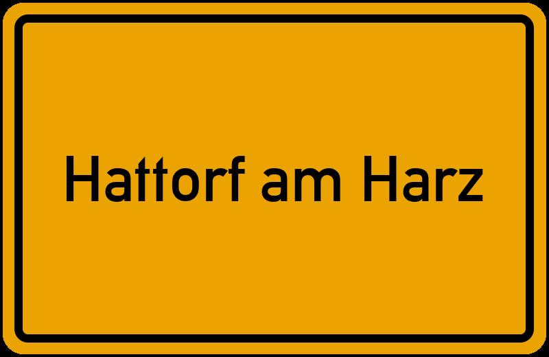 onlinestreet Branchenbuch für Hattorf am Harz