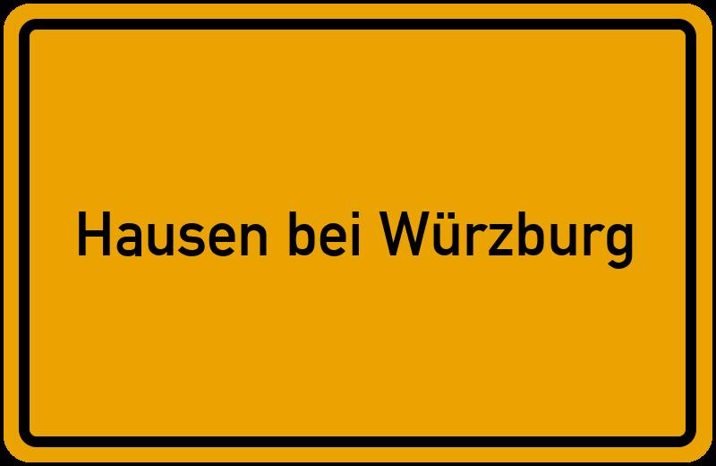 onlinestreet Branchenbuch für Hausen bei Würzburg