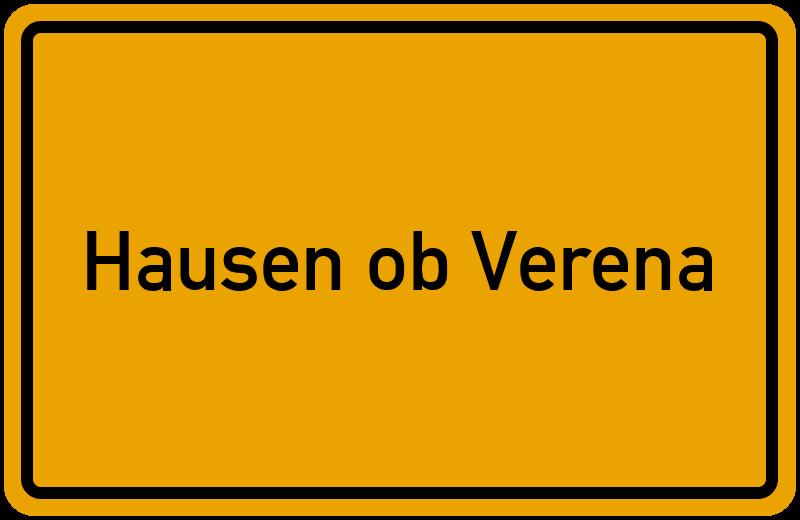 onlinestreet Branchenbuch für Hausen ob Verena