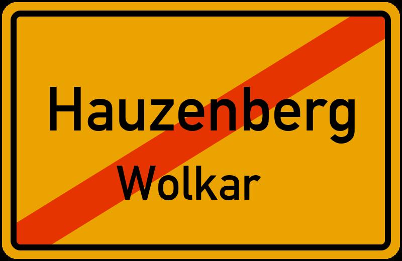 Ortsschild Hauzenberg
