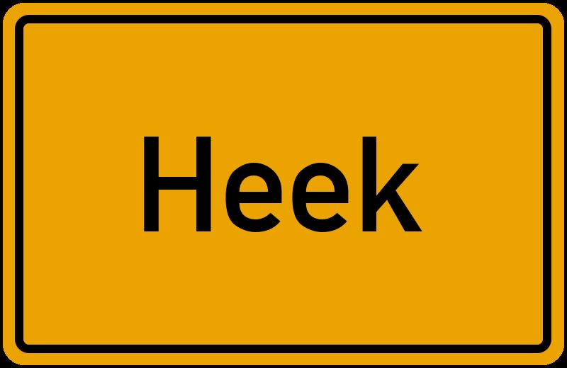 onlinestreet Branchenbuch für Heek