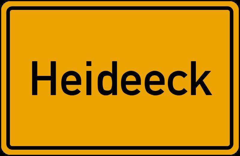 onlinestreet Branchenbuch für Heideeck