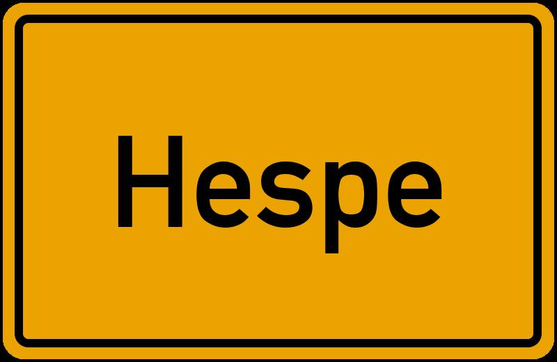onlinestreet Branchenbuch für Hespe
