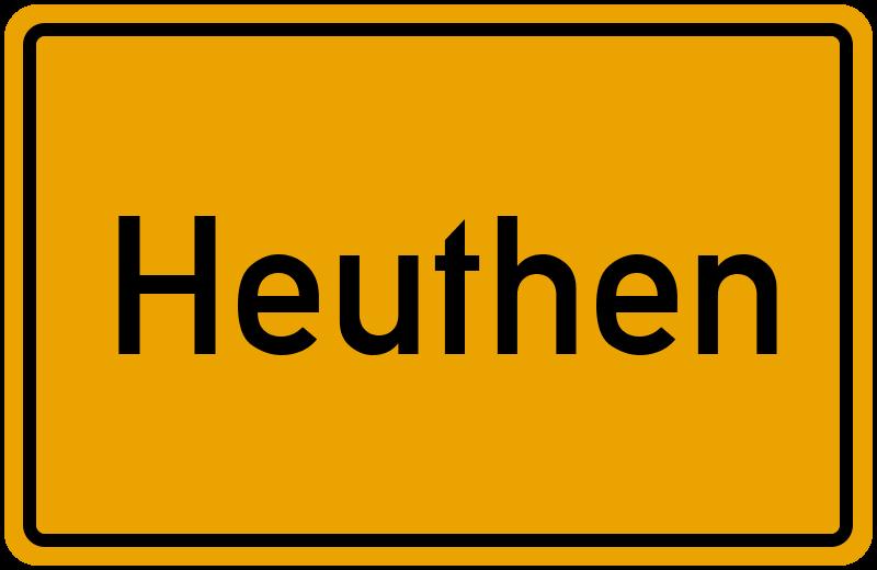 onlinestreet Branchenbuch für Heuthen
