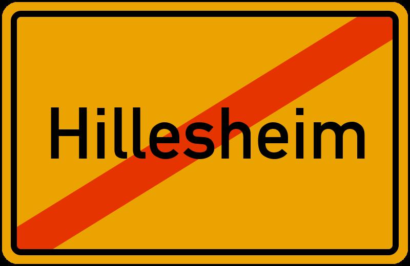Ortsschild Hillesheim