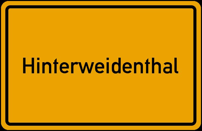 onlinestreet Branchenbuch für Hinterweidenthal
