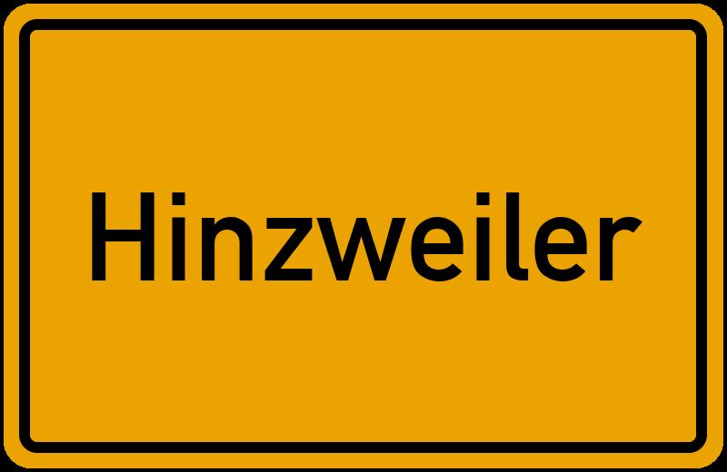 onlinestreet Branchenbuch für Hinzweiler