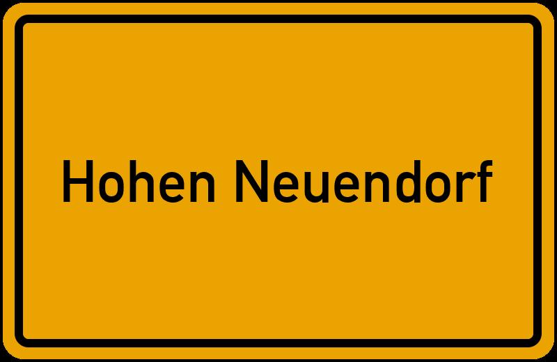 onlinestreet Branchenbuch für Hohen Neuendorf
