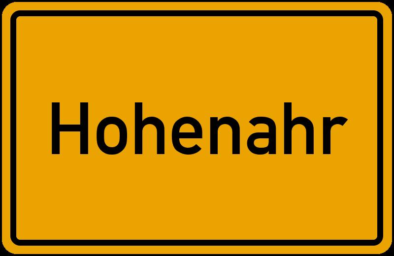 onlinestreet Branchenbuch für Hohenahr