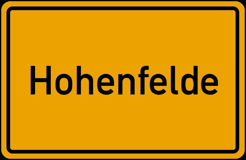 onlinestreet Branchenbuch für Hohenfelde