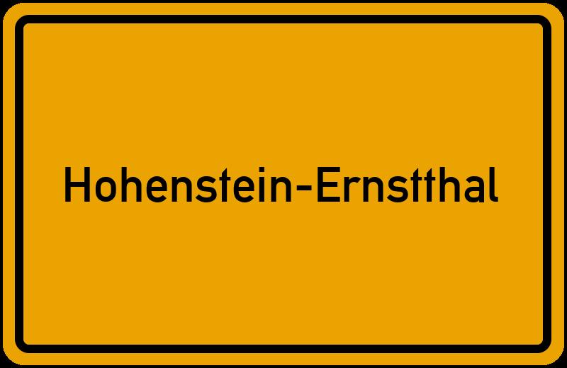 onlinestreet Branchenbuch für Hohenstein-Ernstthal