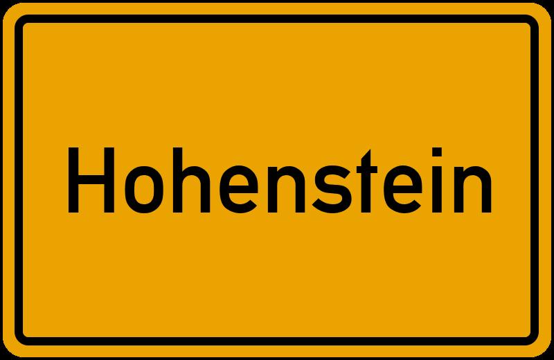 onlinestreet Branchenbuch für Hohenstein