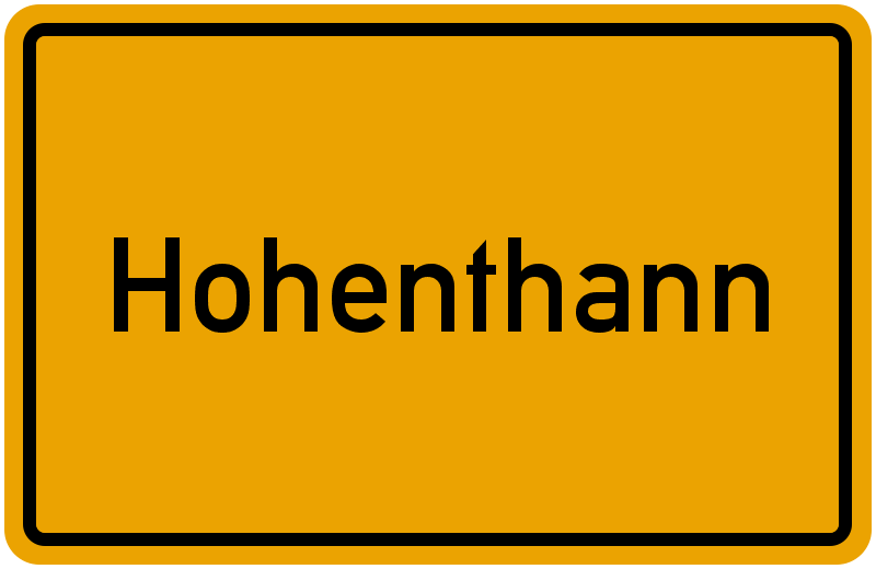 onlinestreet Branchenbuch für Hohenthann