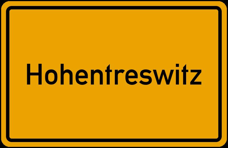 onlinestreet Branchenbuch für Hohentreswitz