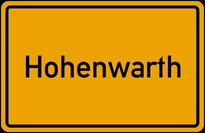 Hohenwarth Bayern