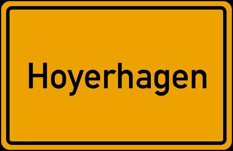 onlinestreet Branchenbuch für Hoyerhagen