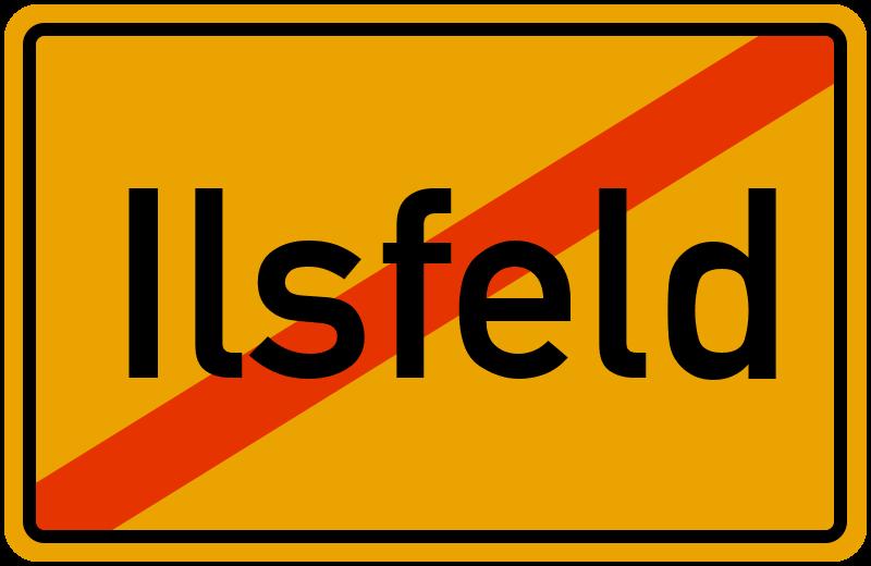 Ortsschild Ilsfeld