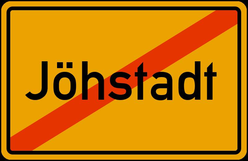 Ortsschild Jöhstadt