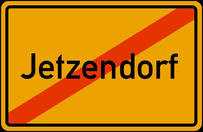 Ortsschild Jetzendorf